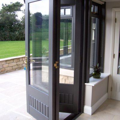 Timber Bi-folding door