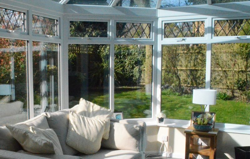Conservatory replacement inside