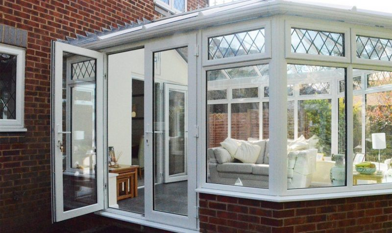 Conservatory replacement project Surrey