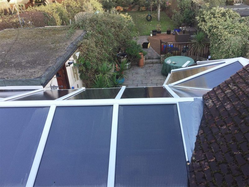 conservatory roof makeover