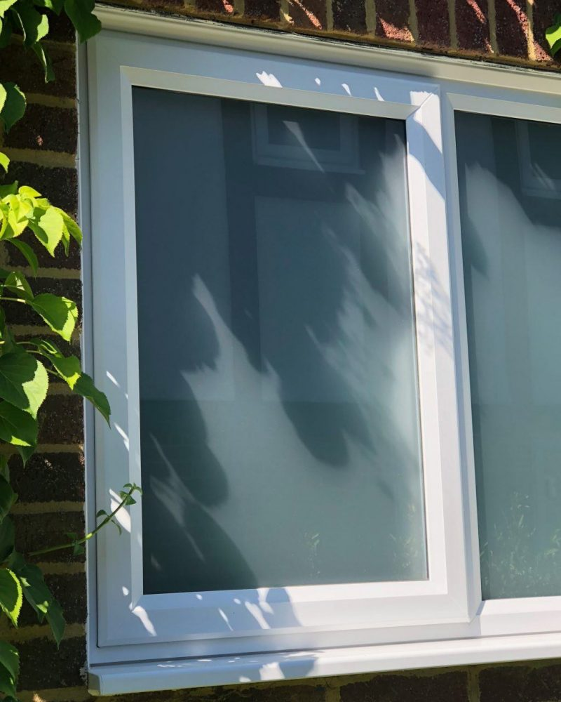 creane white slimline window