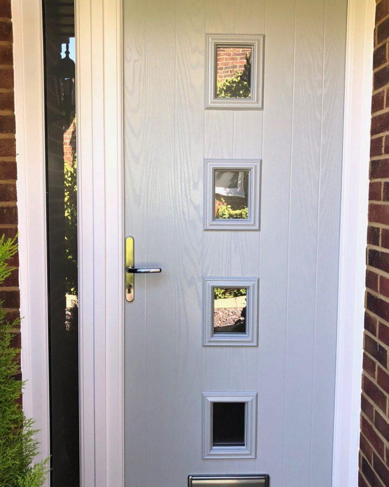 Entrance composite door