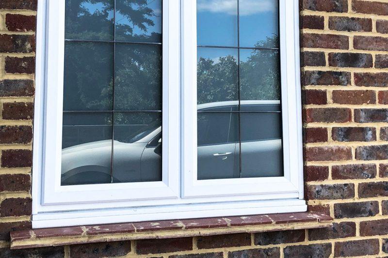 slimline window leaded