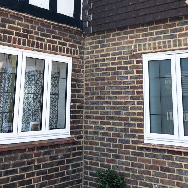 slimline window leaded project