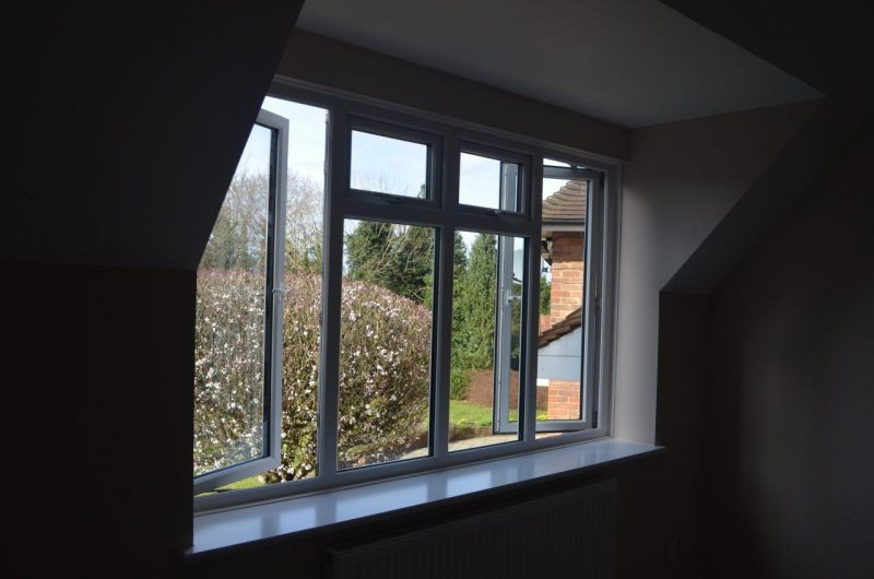 Interior slimline window shot