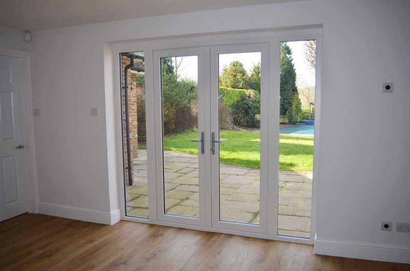 New slimline doors
