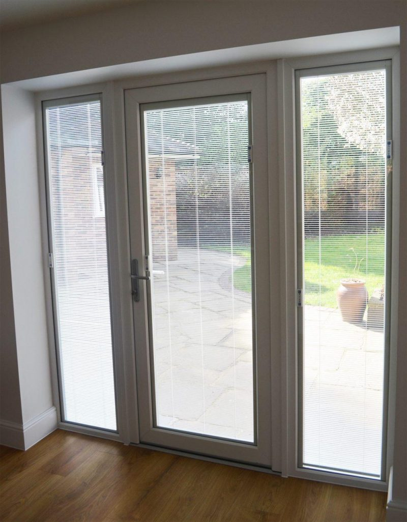 Slimline door installation
