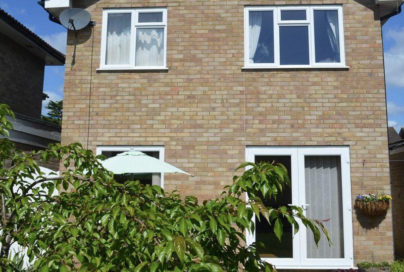 Slimline window installation project