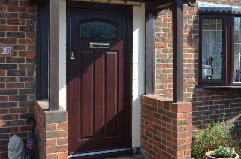 Solidor front door in Rosewood