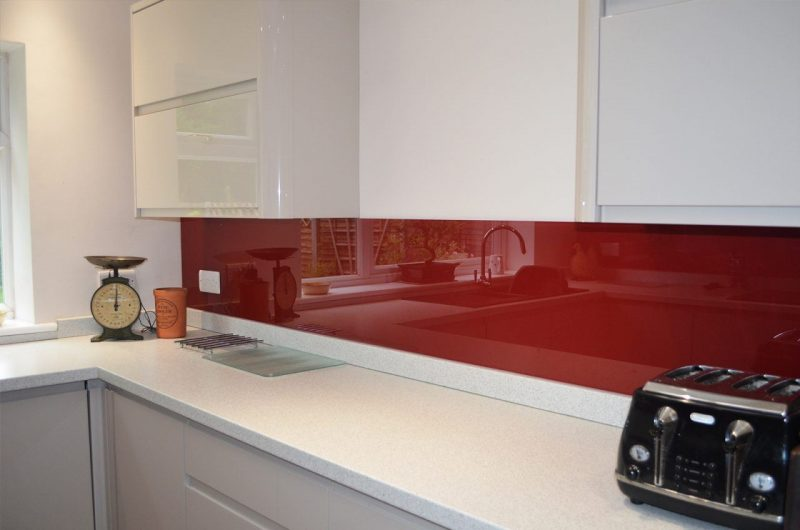 Splashbacks from sheerwater glass