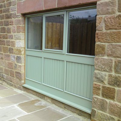 Stormproof Casement Aluminium Window