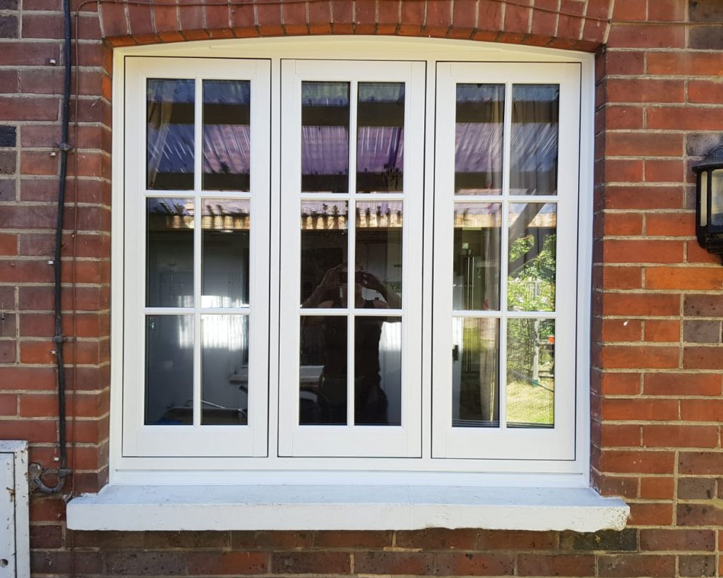 timber alternative flush sash windows
