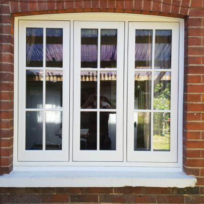 timber alternative flush sash windows