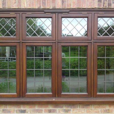 Timber Flush Casement Stormproof Window