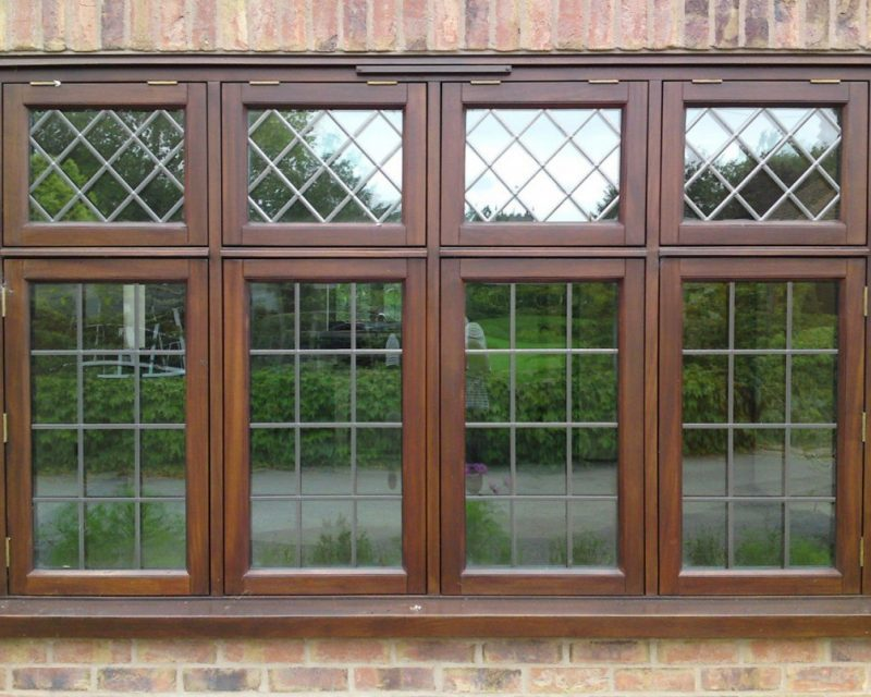 Timber Flush Casement Stormproof Window
