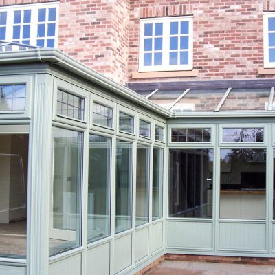 timber conservatories large