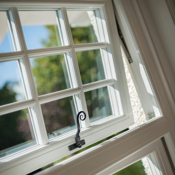 uPVC timber alternative casement window