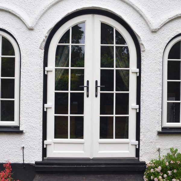 uPVC woodgrain windows and doors