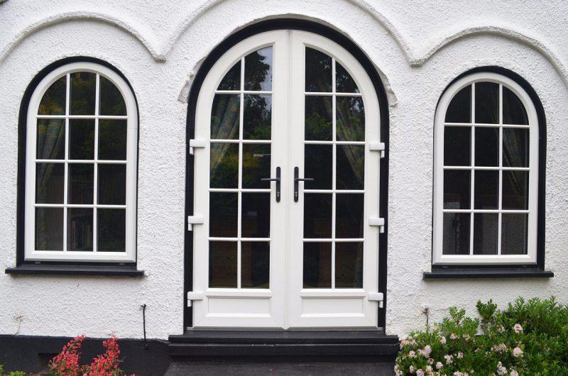 uPVC woodgrain windows and doors