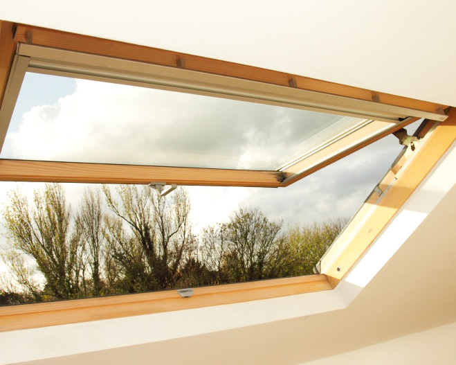 Velux Window in Oak