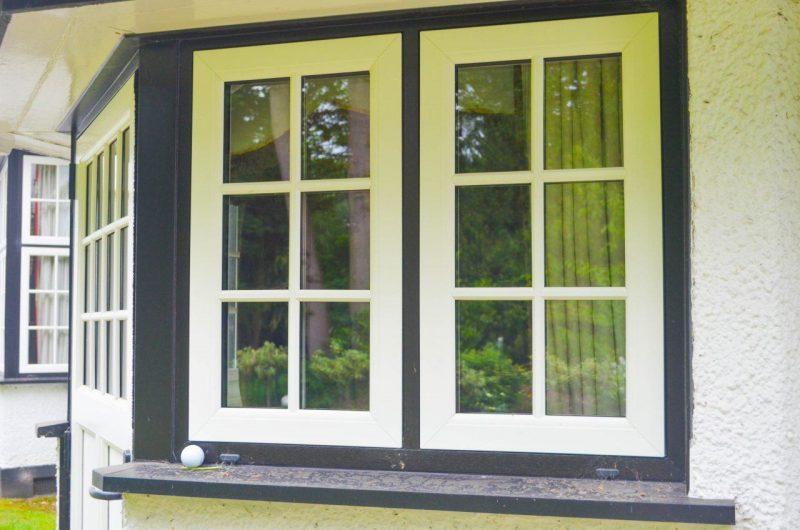 wood effect upvc windows