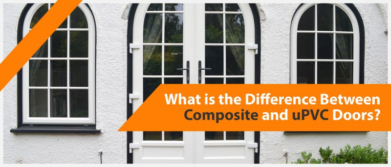 What's the difference between a composite and upvc door?