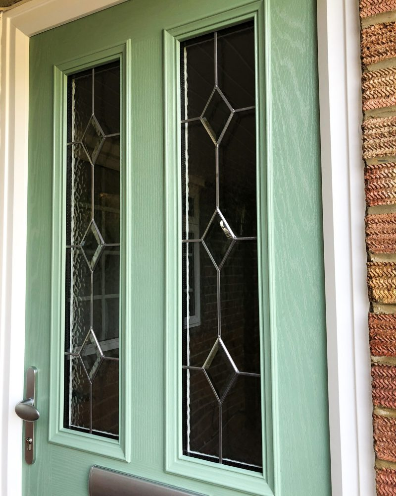 Composite Door Diamond Glass