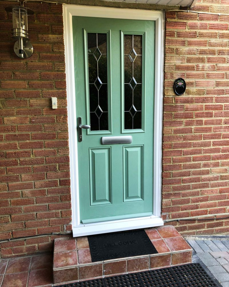 Chartwell Green Composite Front Door