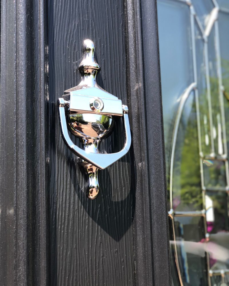 Close up of door knocker