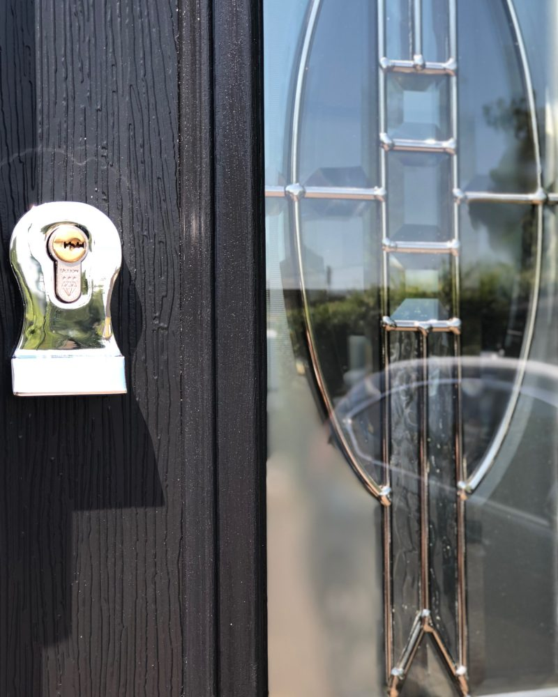 Close up of Solidor lock