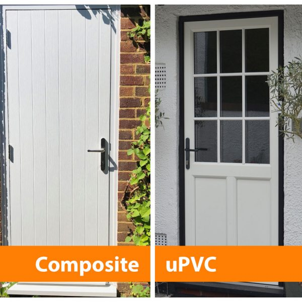 Comparison composite upvc