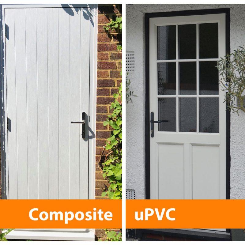 Composite door vs uPVC door