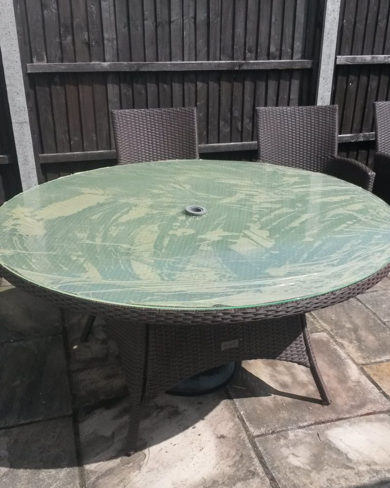 Glass Outdoor Table Top
