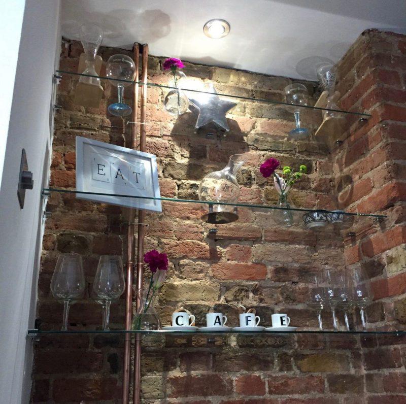 Glass shelves surrey