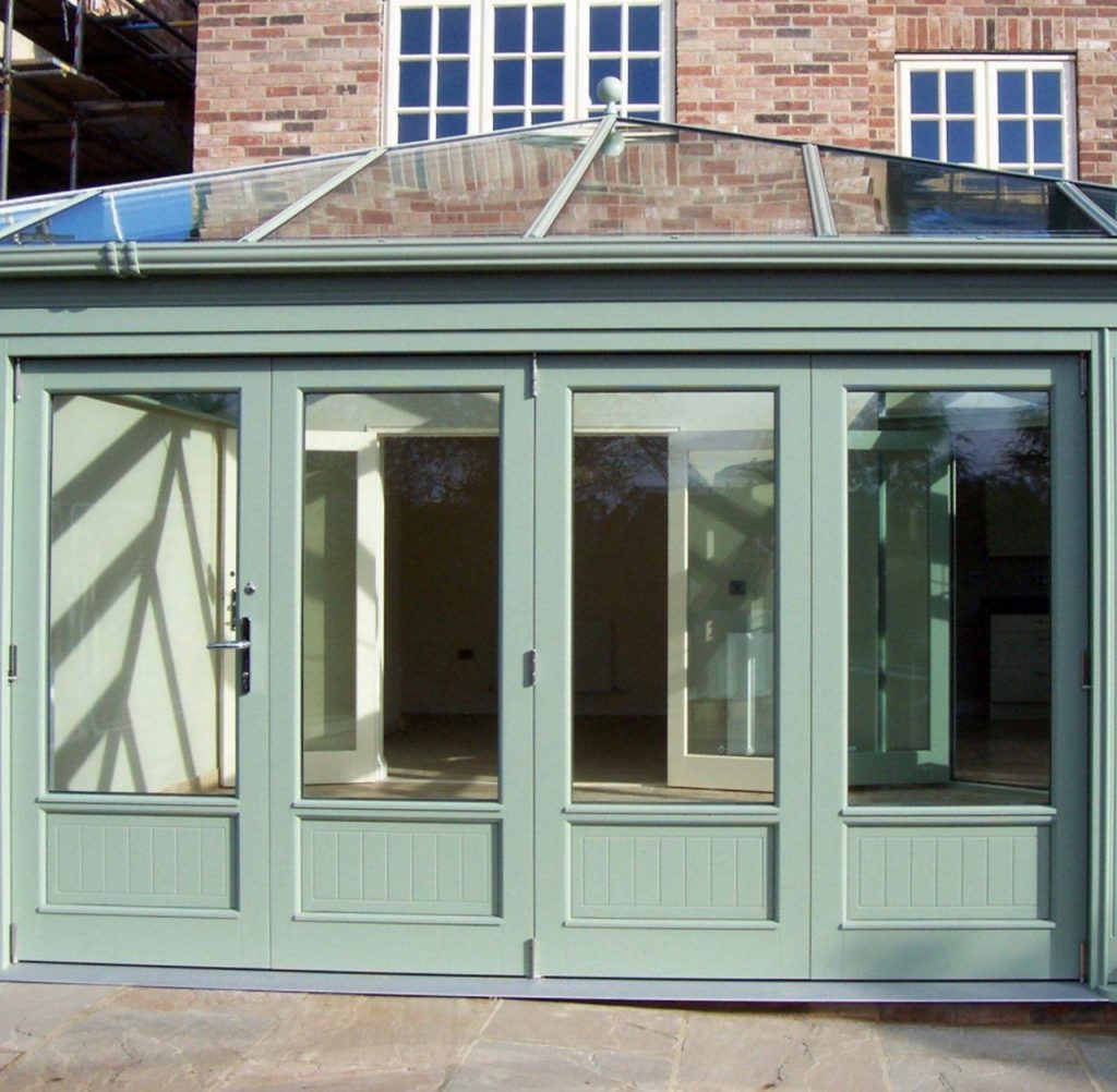 Painted Timber Bi-folding Door