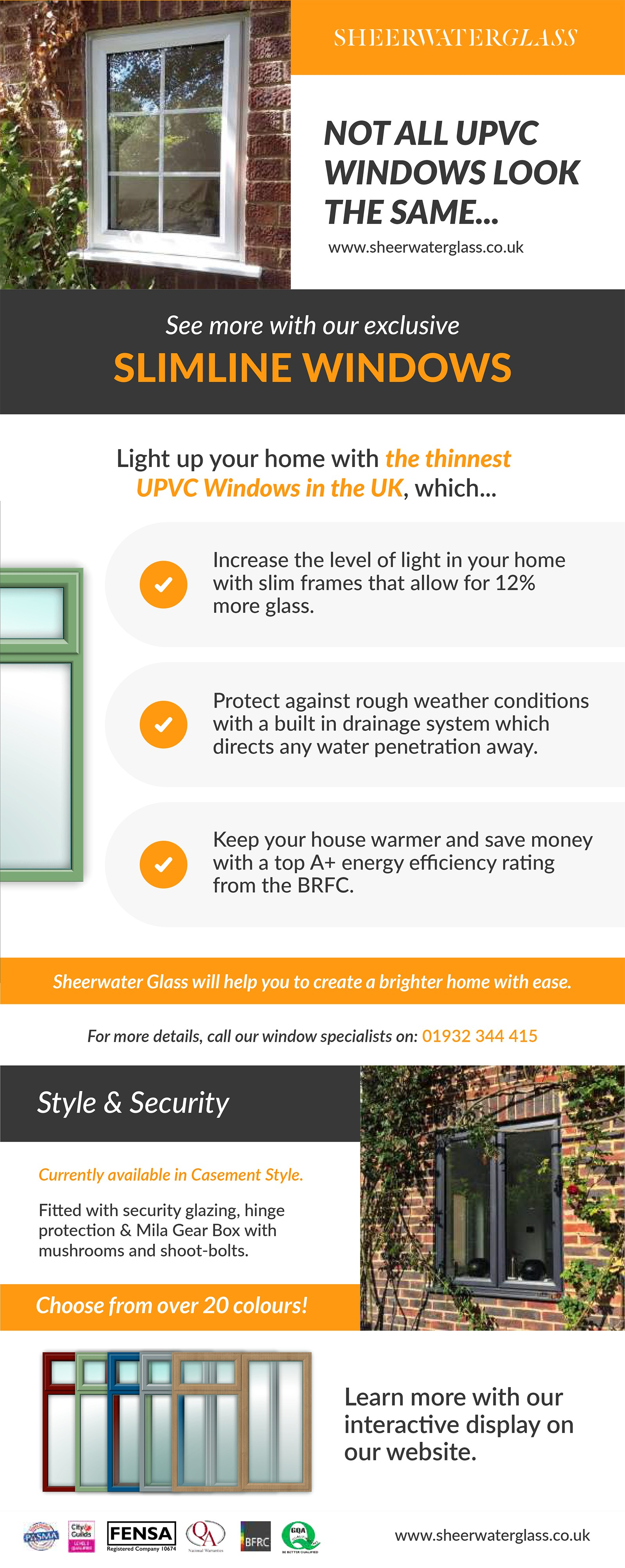uPVC Slimline Windows Guide 2018