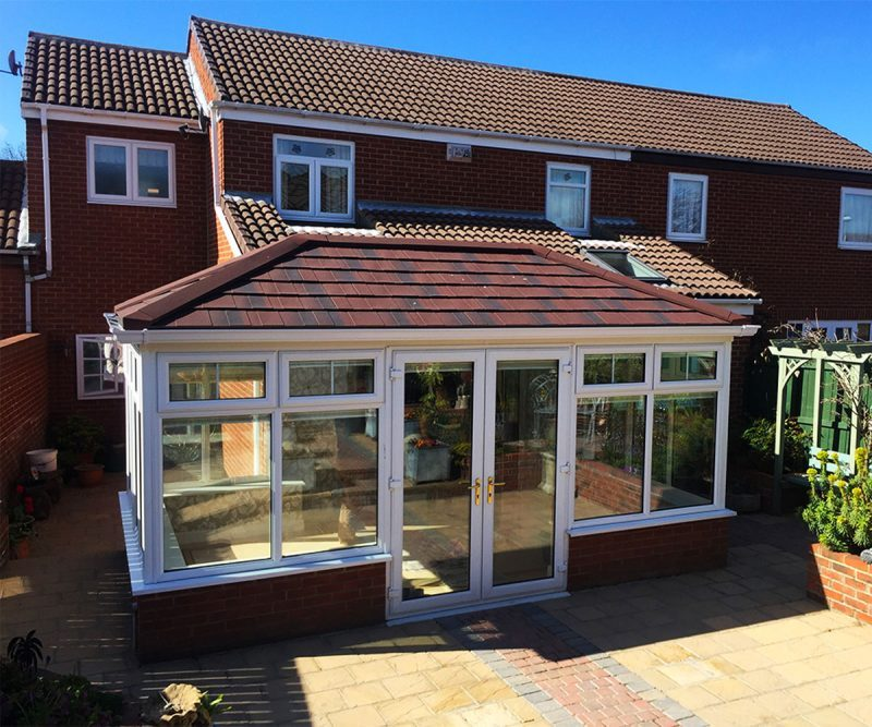 Solid Guardian Warm Roof Conservatory