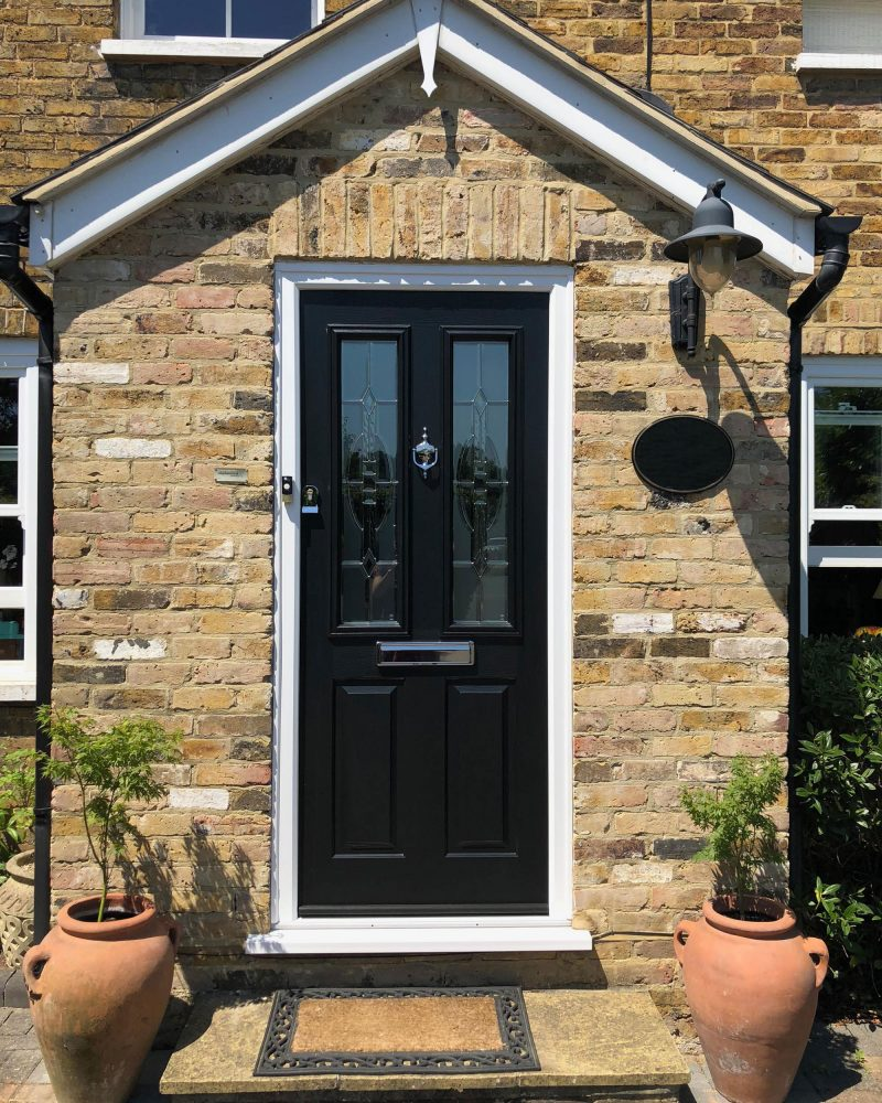 Solidor entrance door in Weybridge