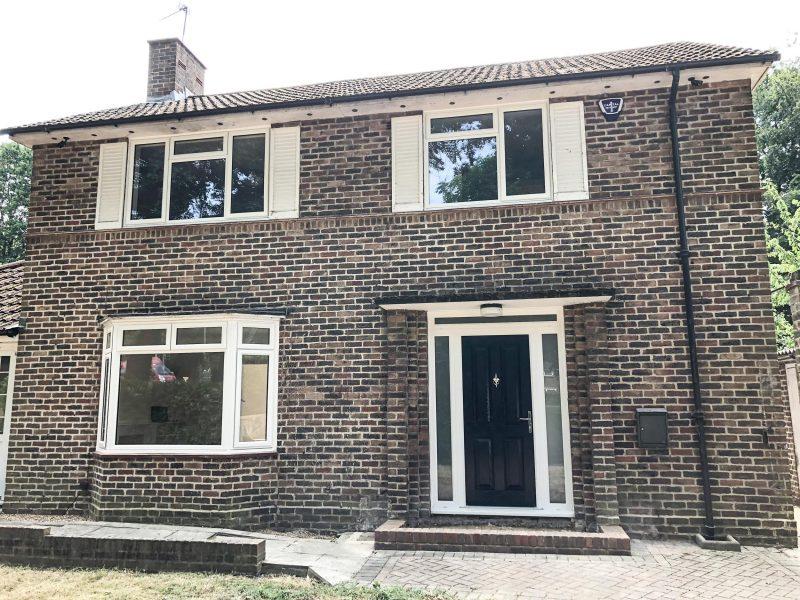 Slimline window and door project Woking