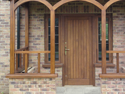 residential timber doors