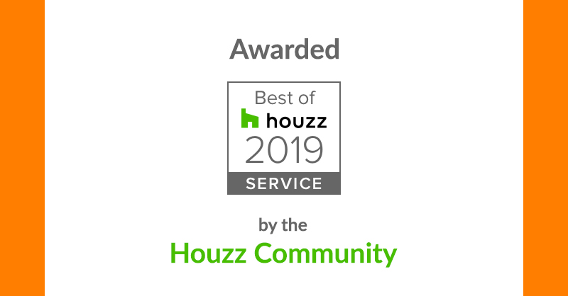 Sheerwater Glass Awarded Houzz Award