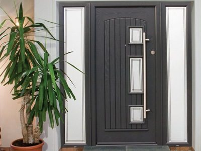 entrance door feature
