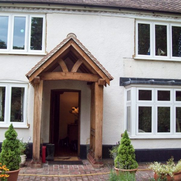 Flush casement windows and bay windows