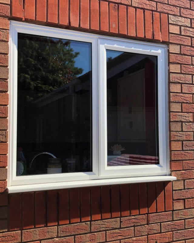 Crowe uPVC slimline windows