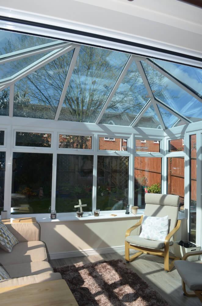 uPVC conservatory installation in Knaphill, Surrey