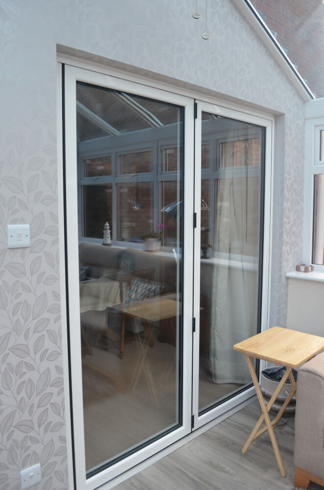 Smith conservatory folding doors