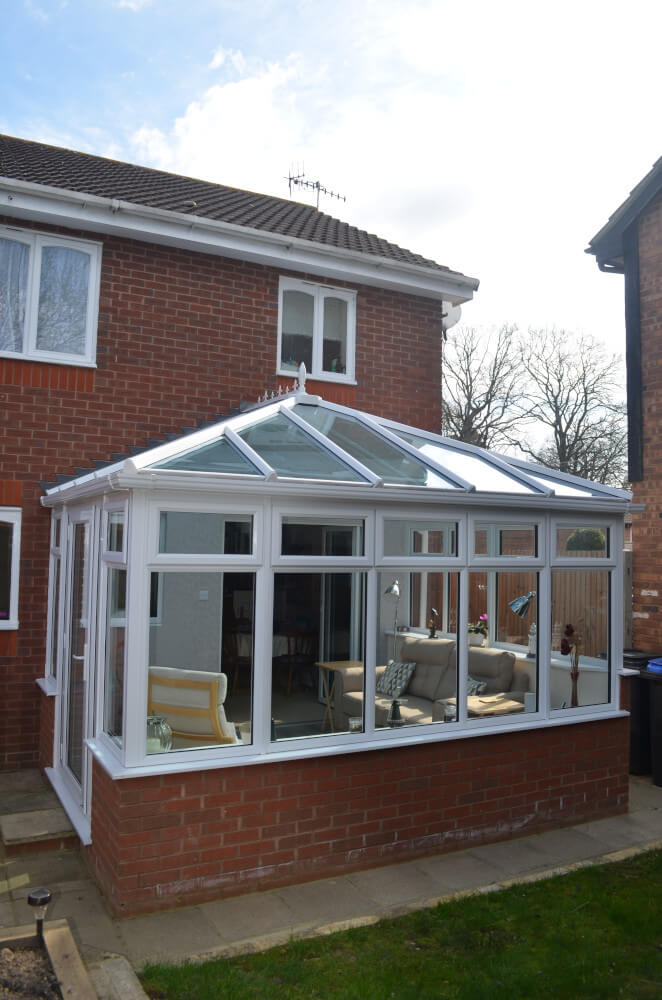 Smith uPVC conservatory exterior view