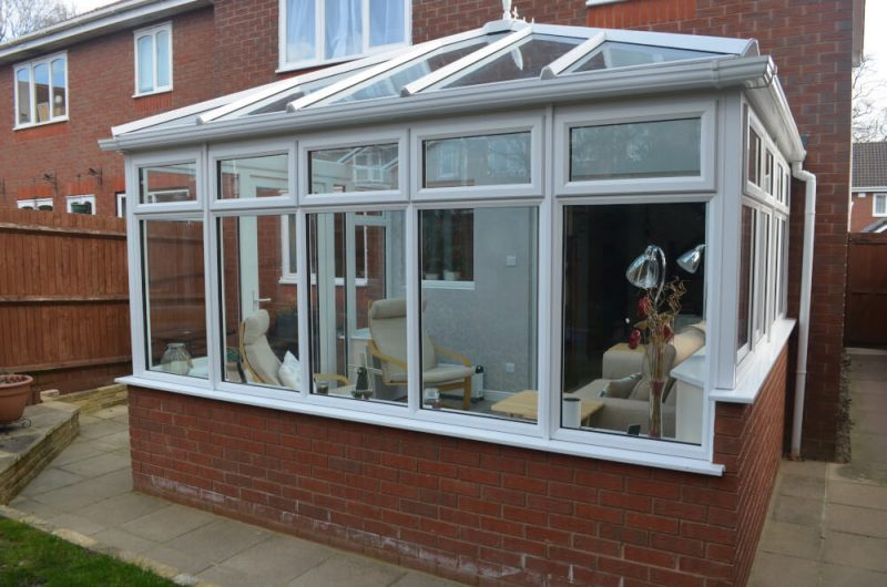 Smith uPVC conservatory exterior view2