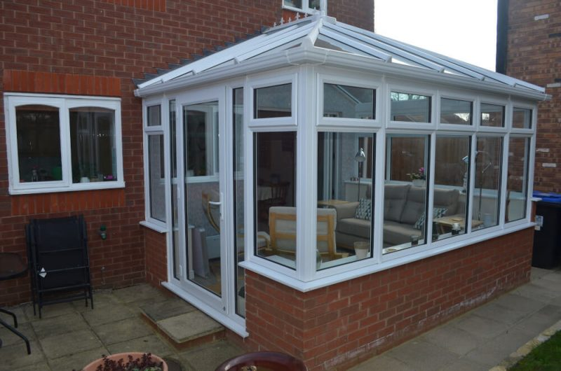 Smith uPVC conservatory exterior view3