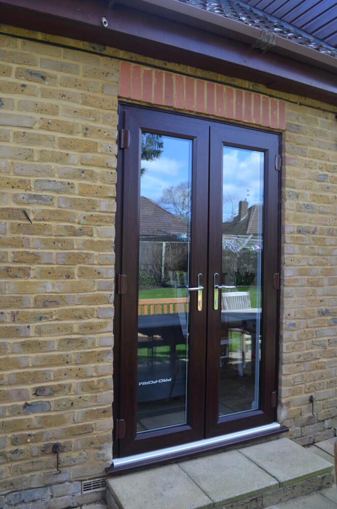 Rosewood uPVC French doors